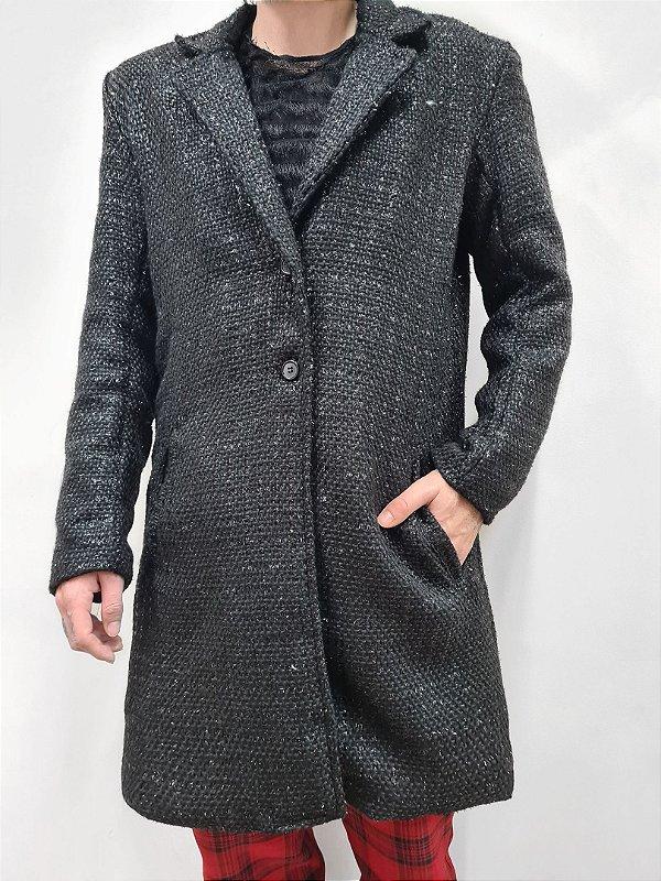 Casaco Tweed Black