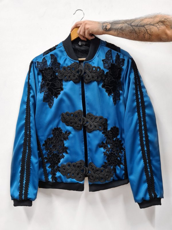 Jaqueta Toureiro Azul