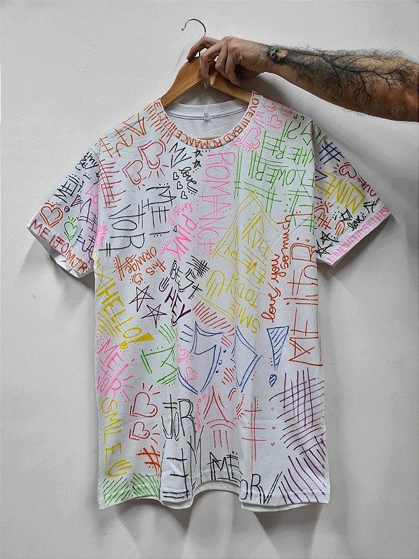Camiseta Rabisco