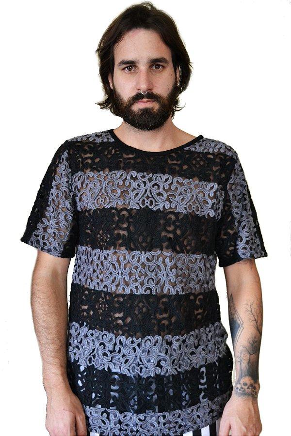 Camiseta Renda