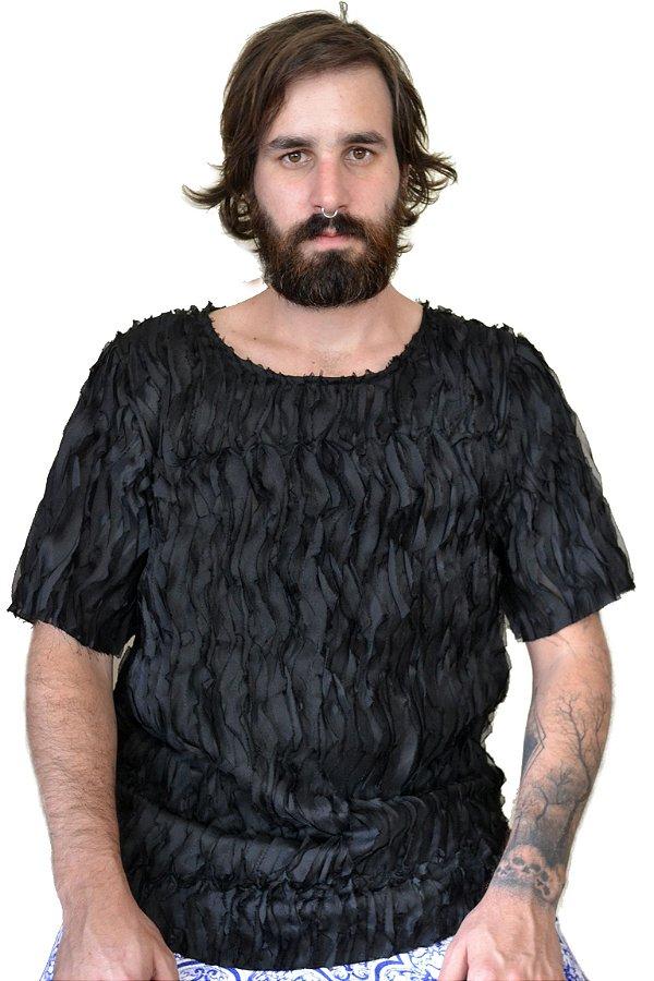 Camiseta Ondas Black