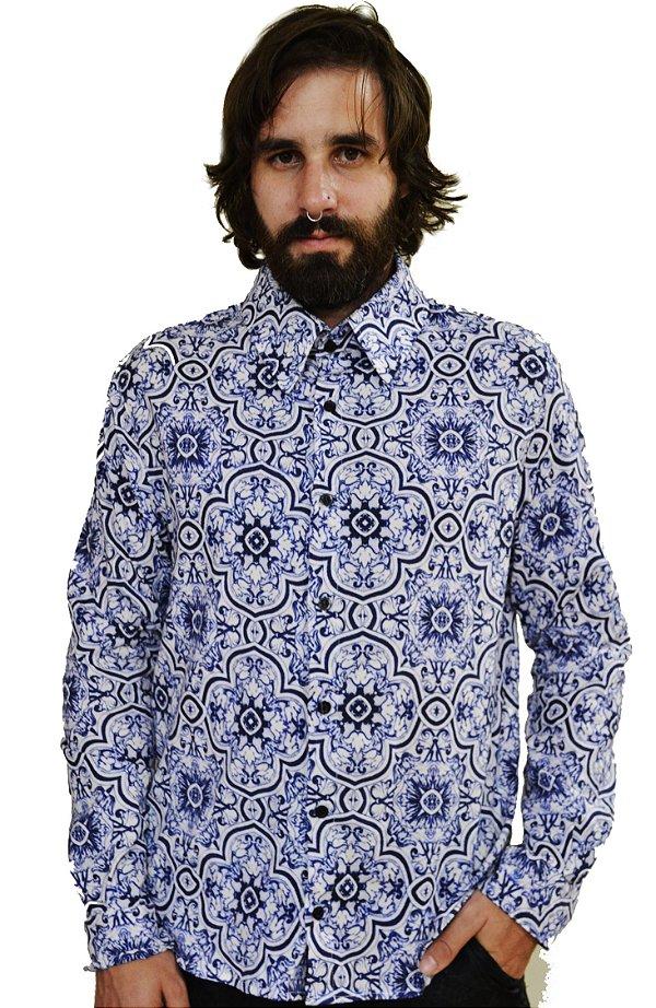Camisa Azulejo