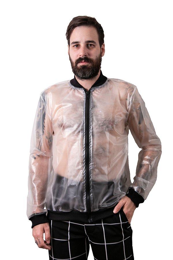 Jaqueta Transparente