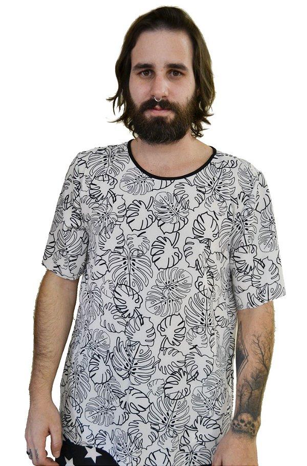 Camiseta Tropical White