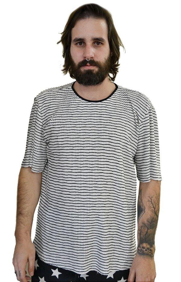 Camiseta Plissada