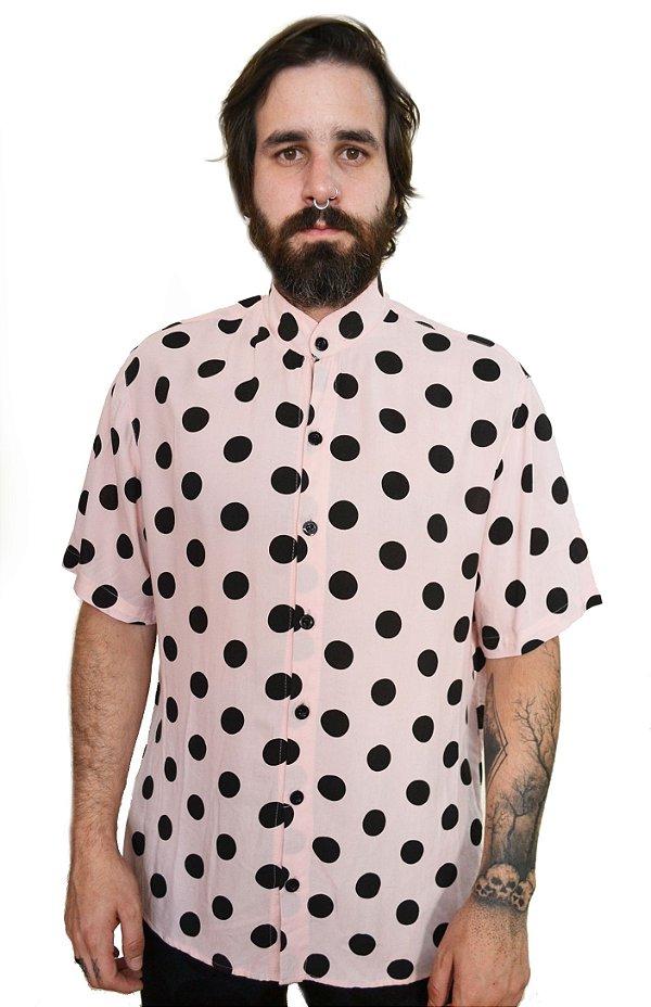 Camisa Poá Rosê