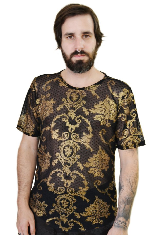 Camiseta Arabesco Gold