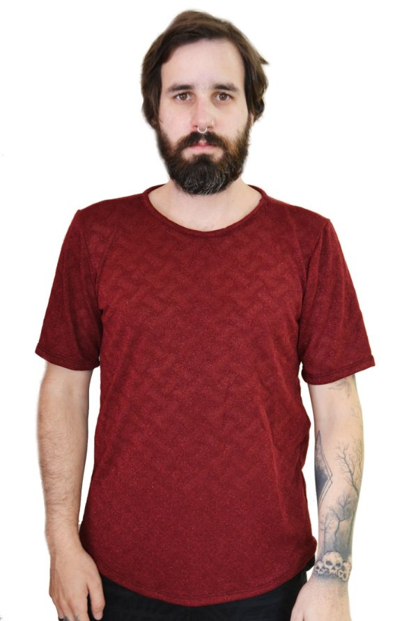 Camiseta Bordô