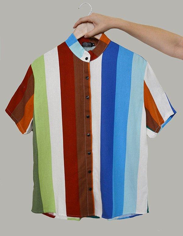 Camisa Multicor
