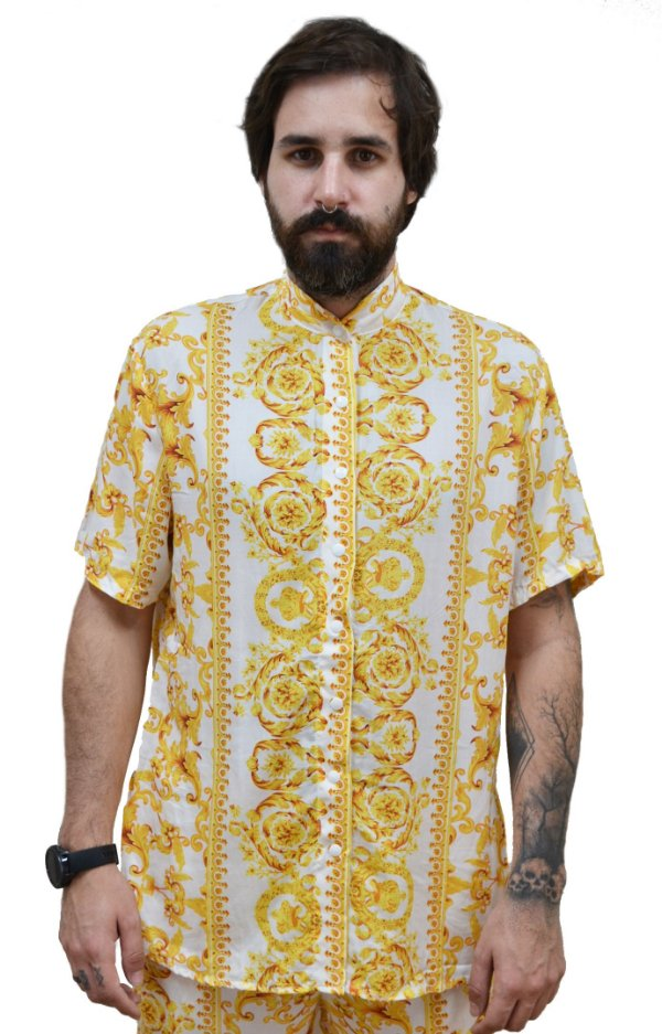 Camisa Samir Branco