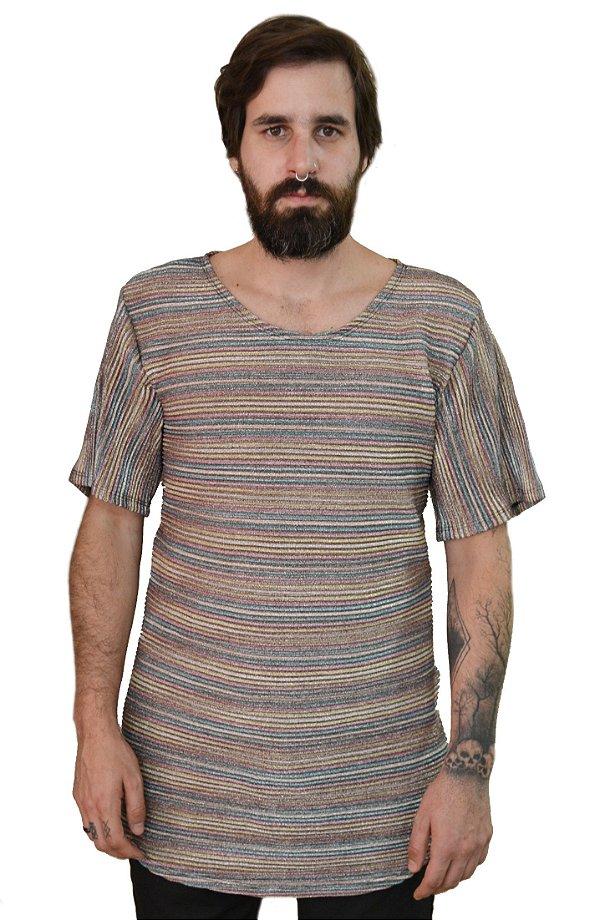 Camiseta Drapeado
