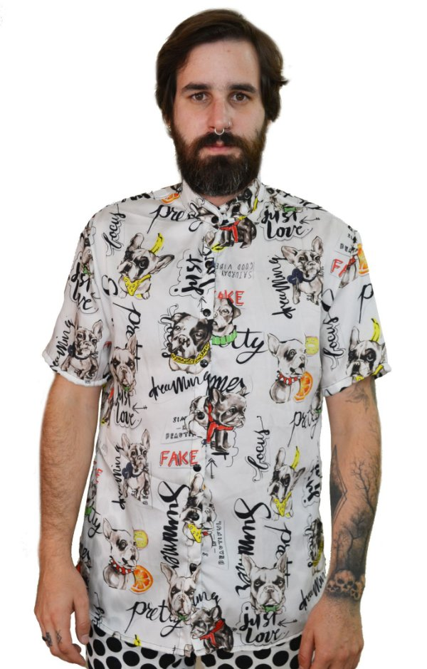 Camisa Bulldog