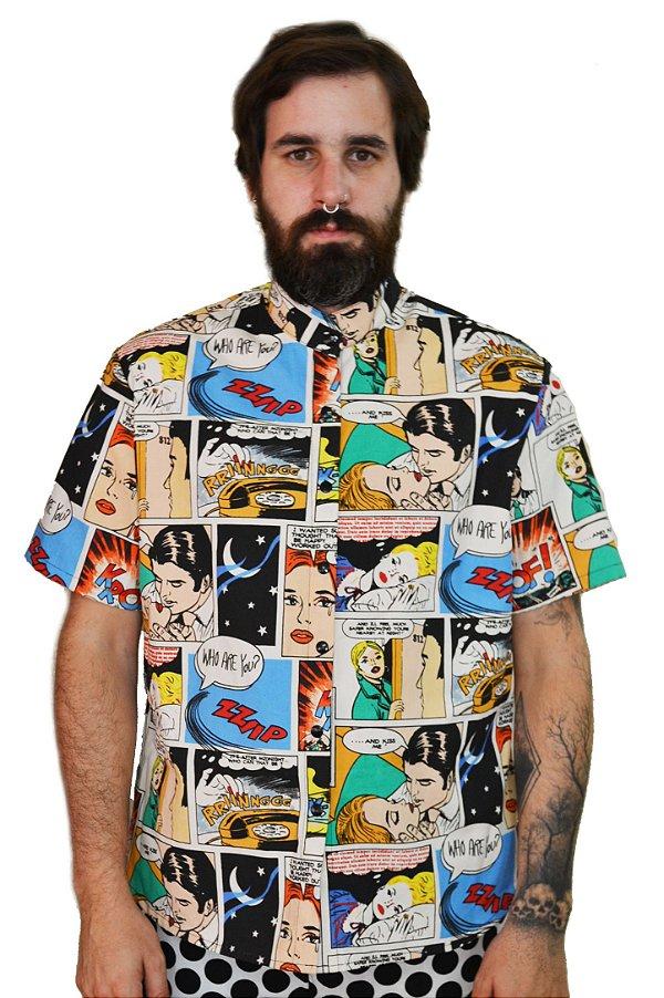 Camisa Quadrinhos