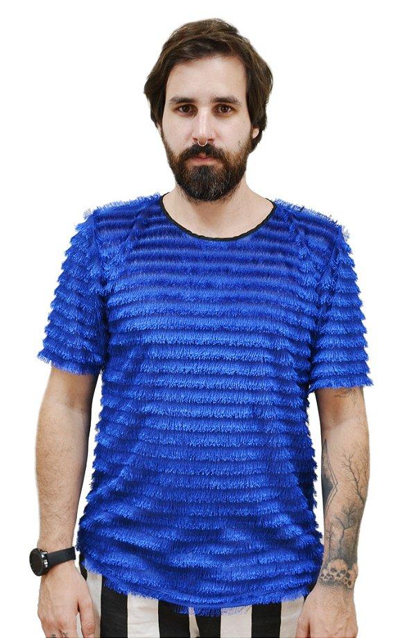 Camiseta Franjas Royal