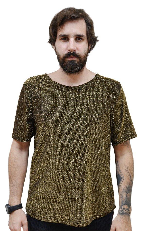Camiseta Dourada