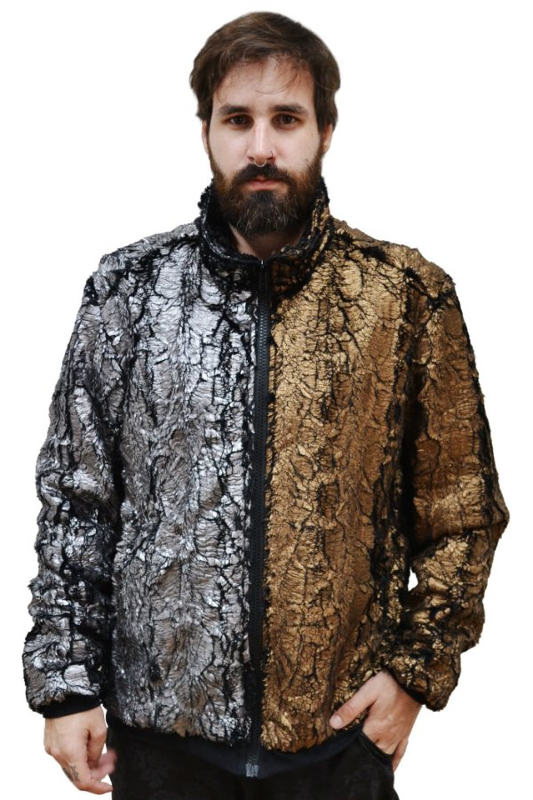 Jaqueta Ouro Prata