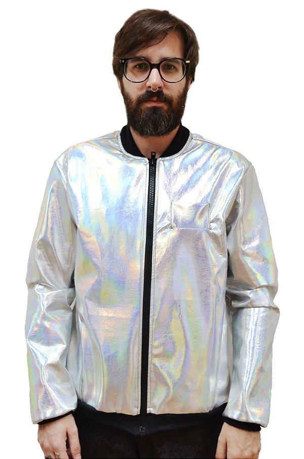 Jaqueta Holográfica
