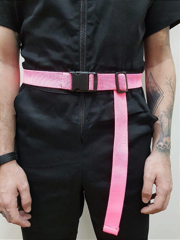 Cinto Rosa Neon