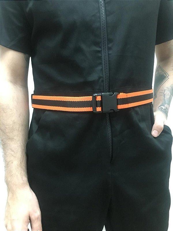 Cinto Orange black