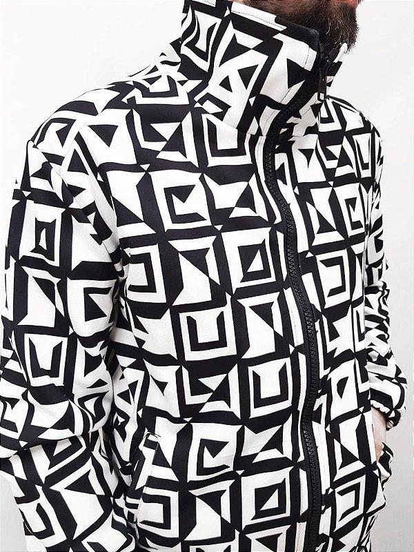 Jaqueta Geométrica