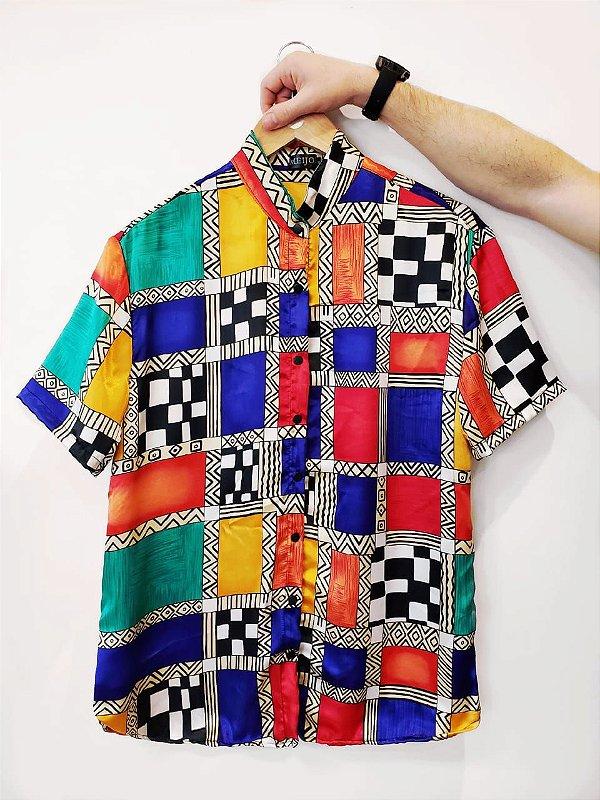 Camisa Tabuleiro