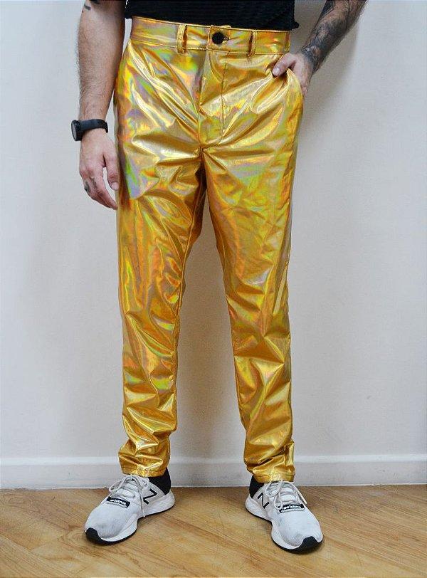 Calça Fluor Gold