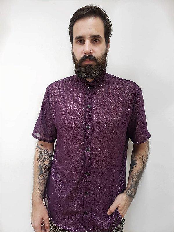 Camisa Lua Lilás