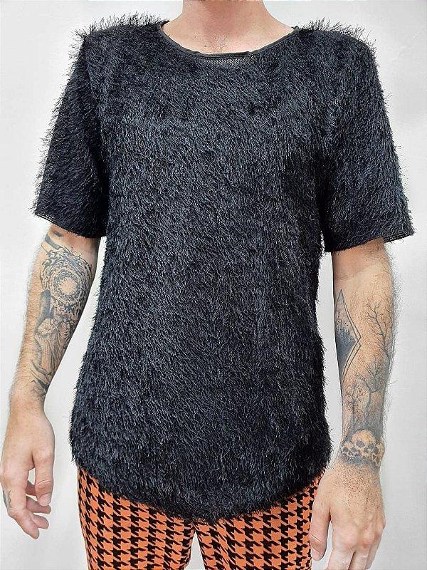 Camiseta Peluda