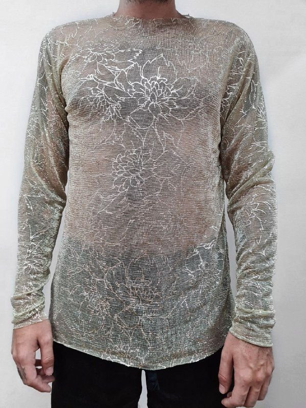 Camiseta manga longa Noiva