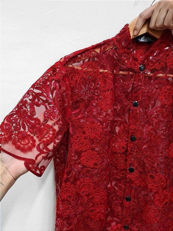 Camisa Paete Vermelho