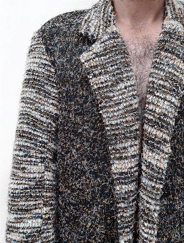 Casaco Tweed Brilho