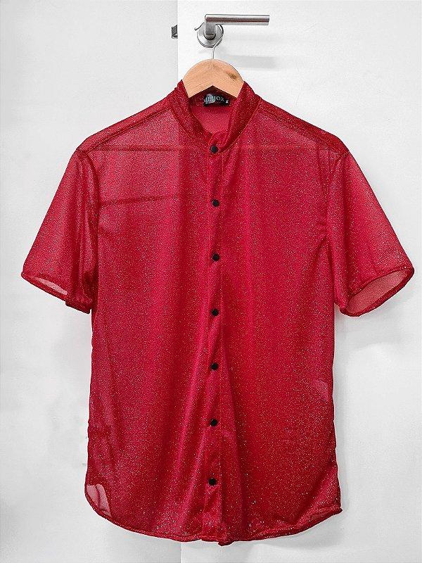 Camisa Lua Vermelho
