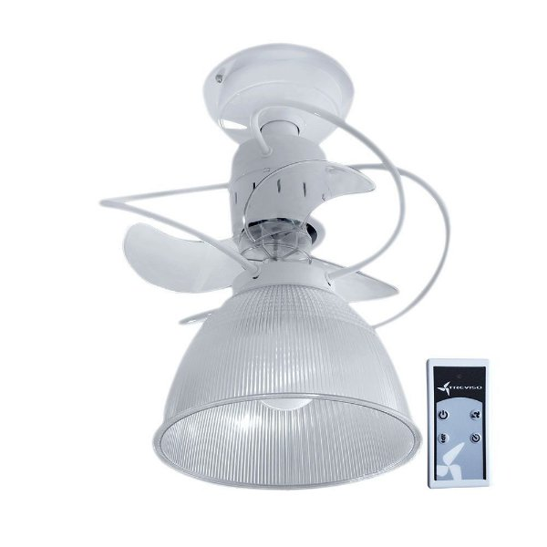 Ventilador de Teto Treviso Camburi Branco C/ Controle Remoto