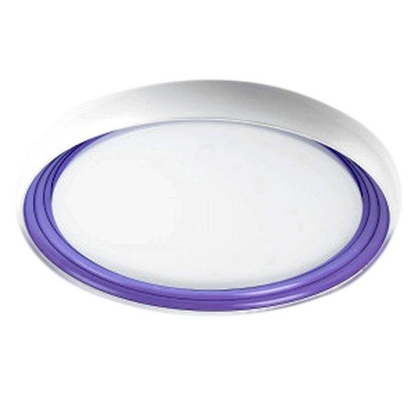 Plafon de Led 18W Treviso Milano Purple 6500K
