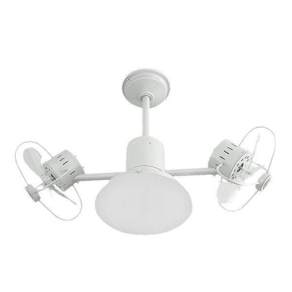 Ventilador de Teto Infinit Plus Branco C/ LED 18W