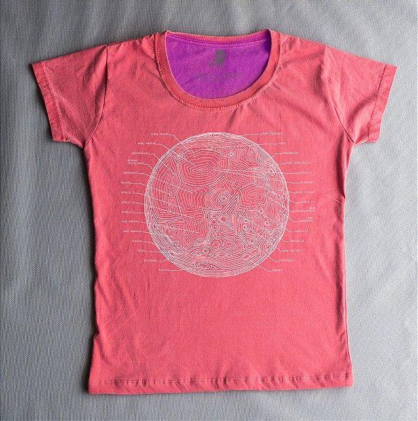 Camiseta Babylook Lua