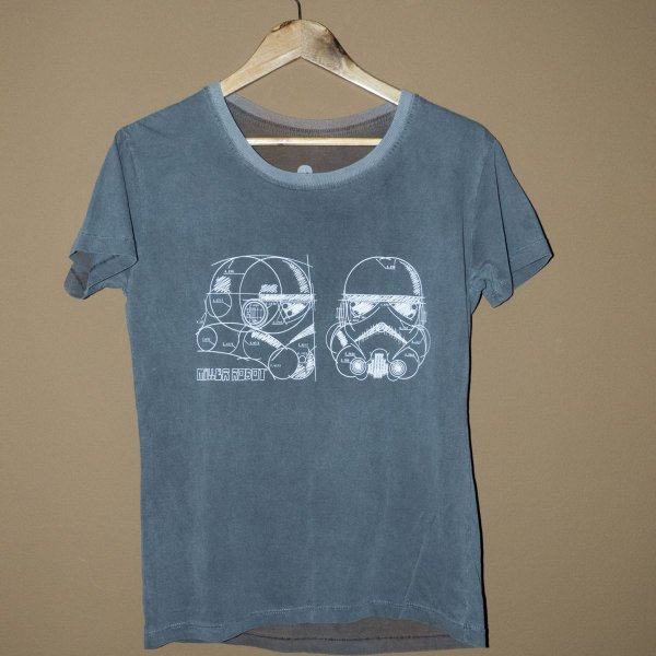 Camiseta Babylook Estonada Trooper