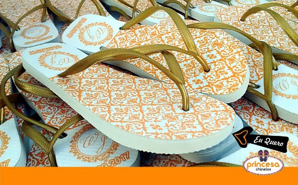 4da6d0ade Chinelos personalizados baratos na 25 de março - kit com 20 pares linha  Premium