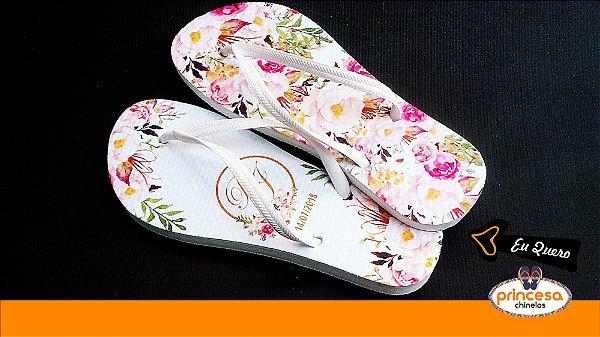chinelos personalizados para casamento em ribeirao preto - kit com 80 pares linha Premium