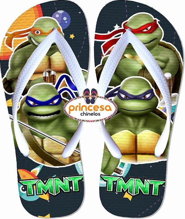 lembrancinhas de aniversario das tartarugas ninjas - kit com 85 pares Linha Econômica