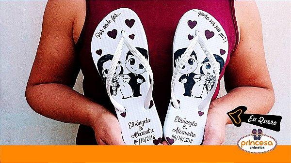 onde comprar chinelos para personalizar rj - kit com 75 pares Linha Econômica