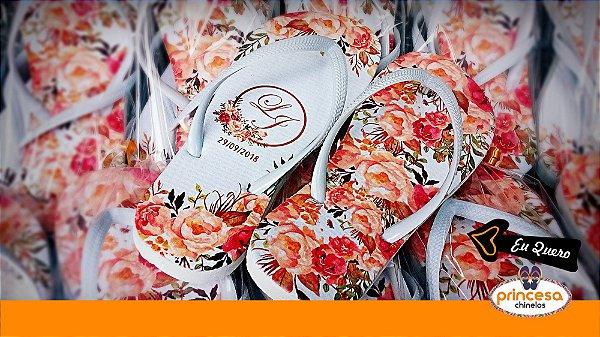 chinelos personalizados centro rj - kit com 250 pares Linha Econômica