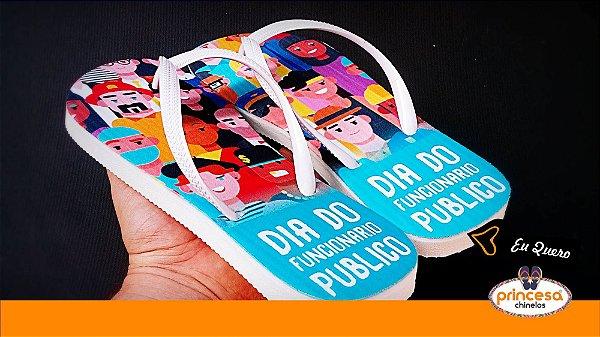 sandalias personalizadas campinas - kit com 500 pares Linha Econômica