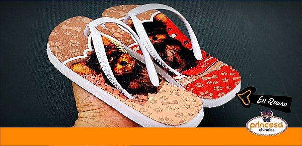 chinelos personalizados em goiania - kit com 800 pares Linha Econômica