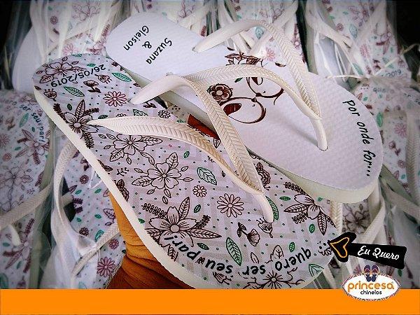 chinelos personalizados madrinhas
