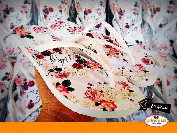 chinelos personalizados para casamento barato sp