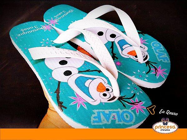 chinelos personalizados infantil para aniversario