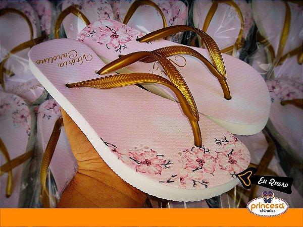 chinelos personalizados para lembrança de aniversário