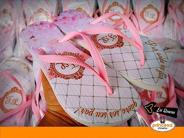 chinelos personalizados para casamento em ribeirao preto