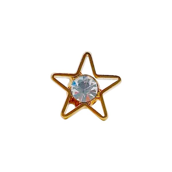 Piercing estrela cristal - Unidade